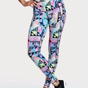 Neon Print Victoria's Secret Knockout Sport Tight